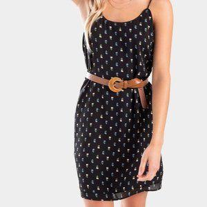 Francesca's Keli Wildflower Cami Dress NWT